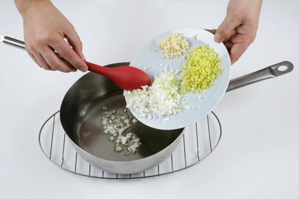 ingredientes para el risotto