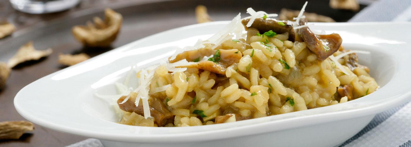 Receta de risotto de setas for Como cocinar risotto de setas