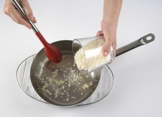cómo sofreir arroz