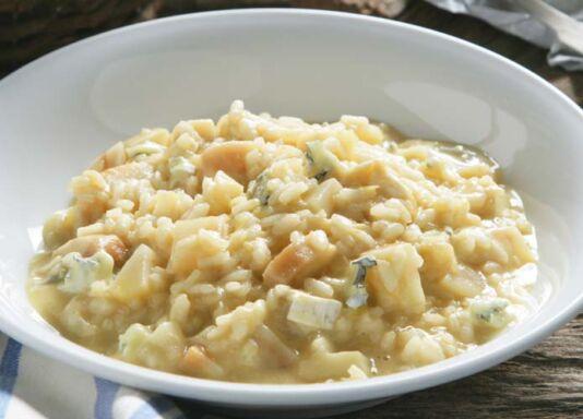 Receta de risotto de pera
